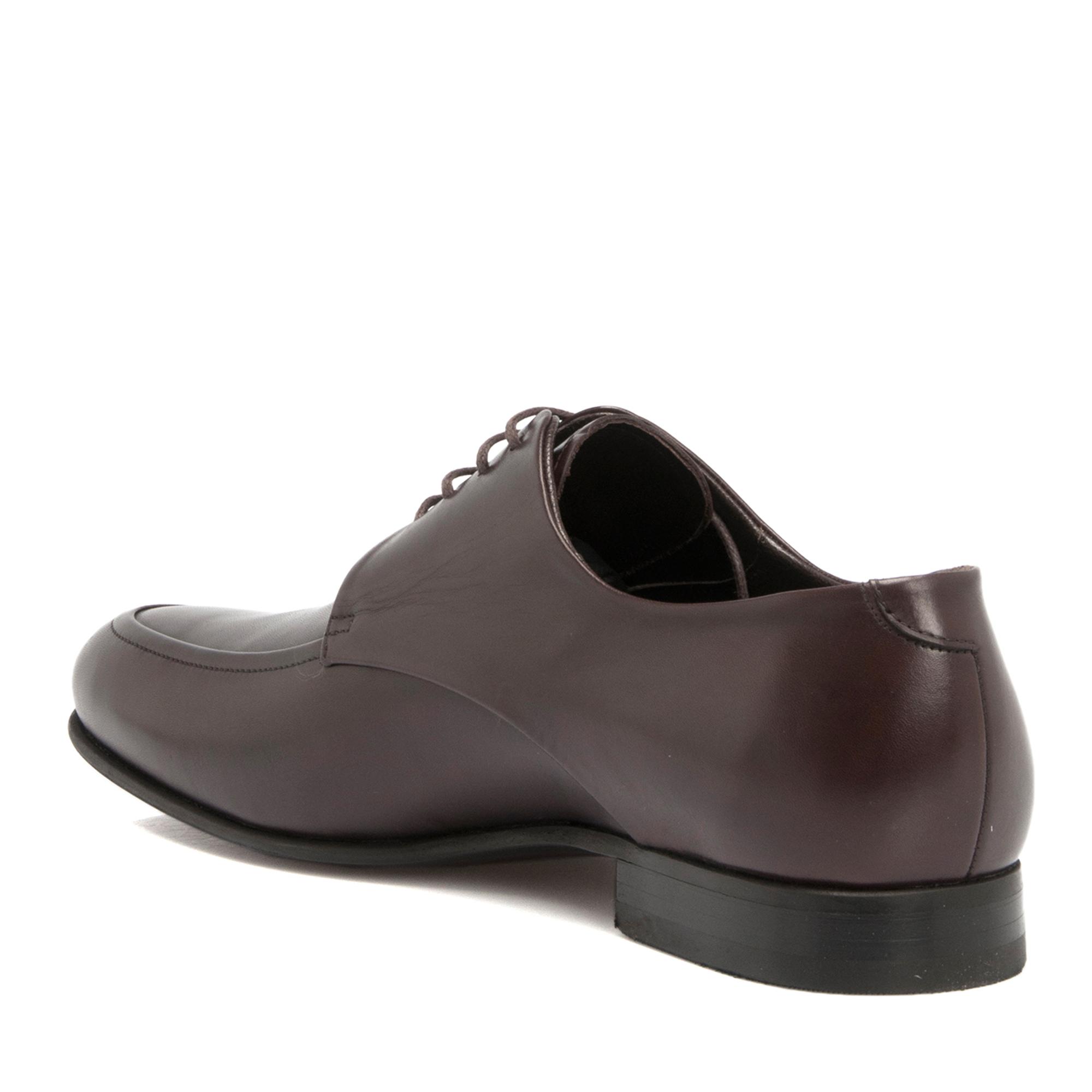 Kahve Deri Erkek Ayakkabı 53528D06