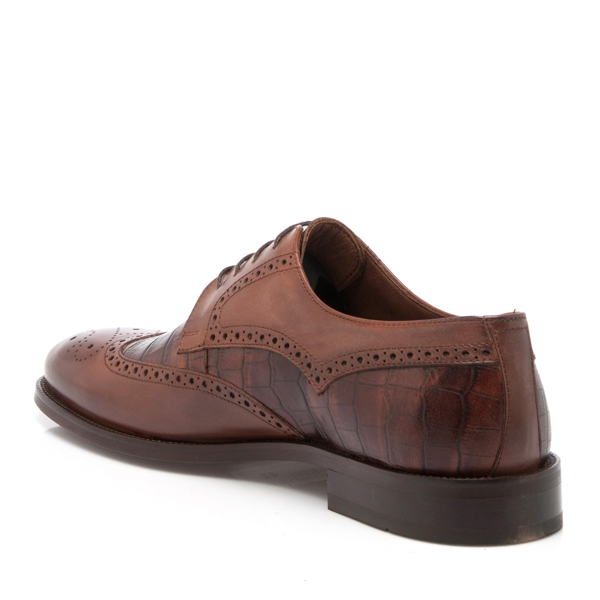 Taba-Croco Deri Erkek Ayakkabı 54077K7O