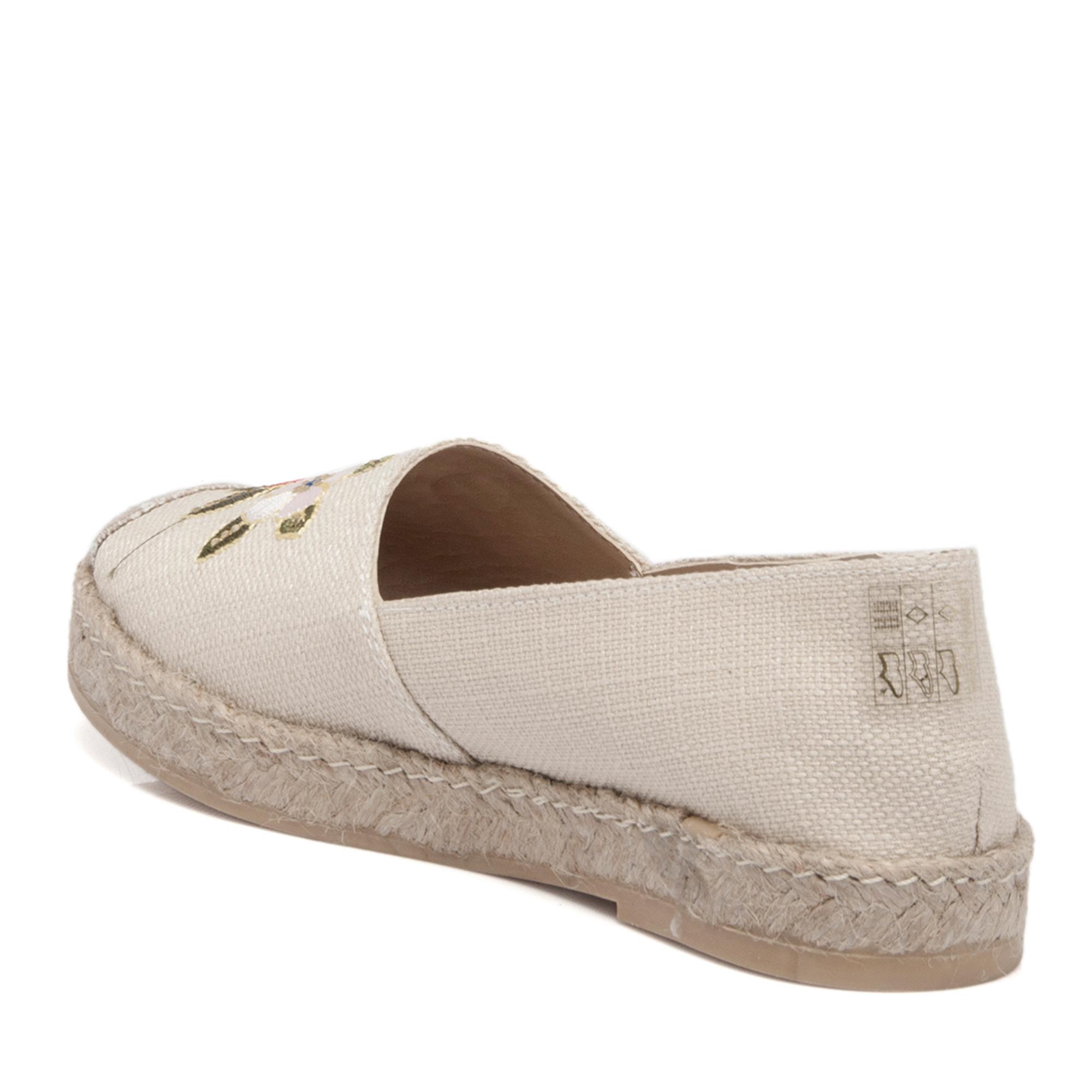 Bej Tekstil Kadın Ayakkabı 64213M04