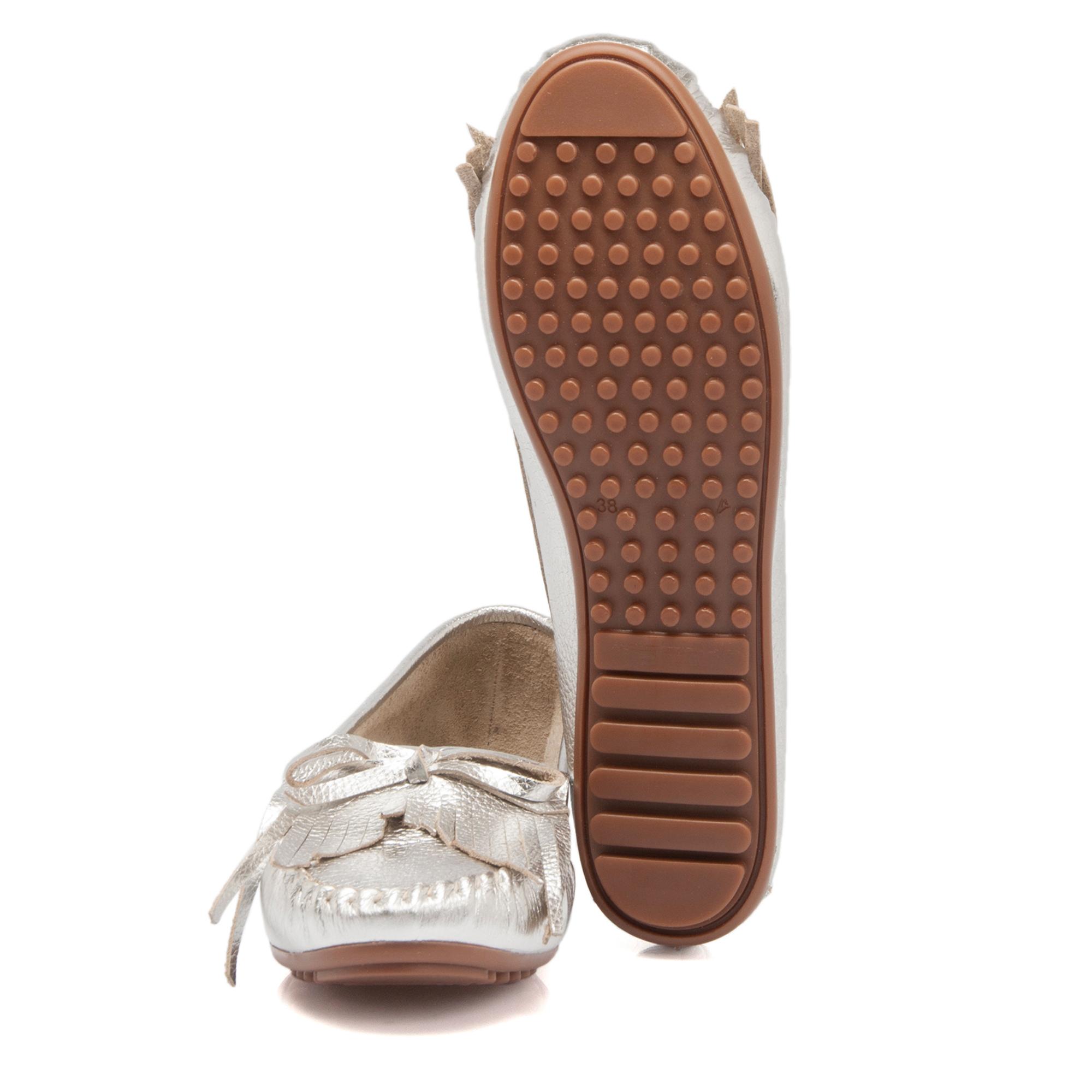 Lame Deri Kadın Ayakkabı 64215A33