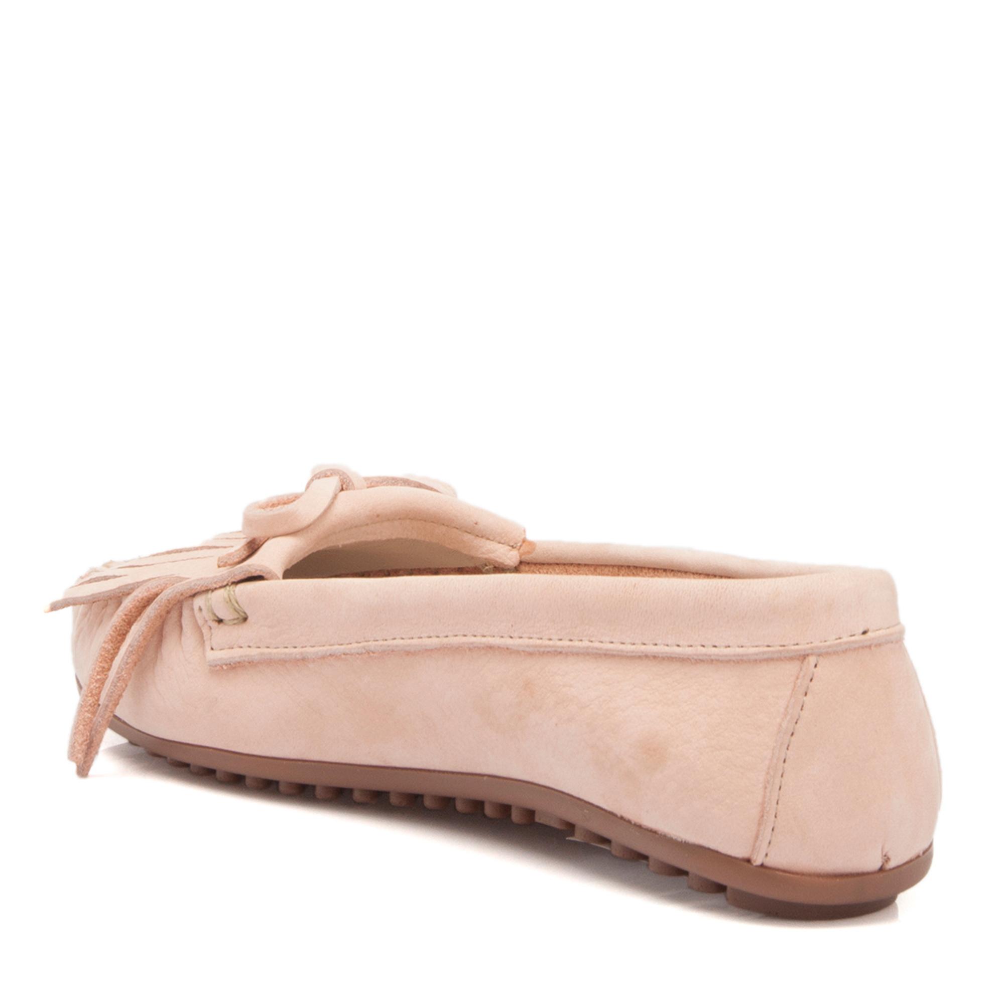 Pudra Deri Kadın Ayakkabı 64215A66