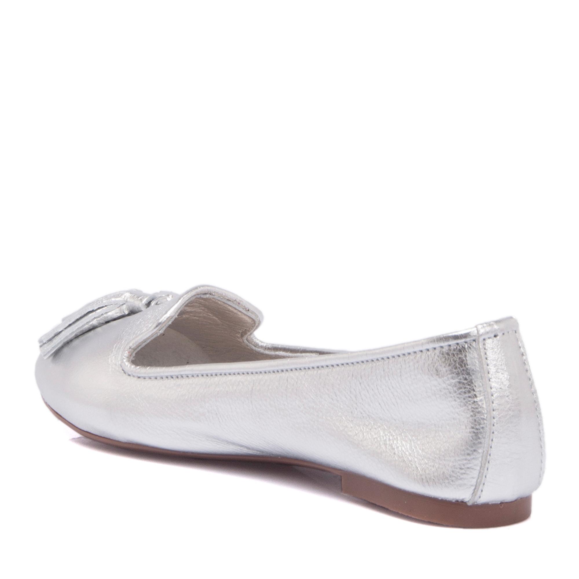 Lame Deri Kadın Ayakkabı 64216A33