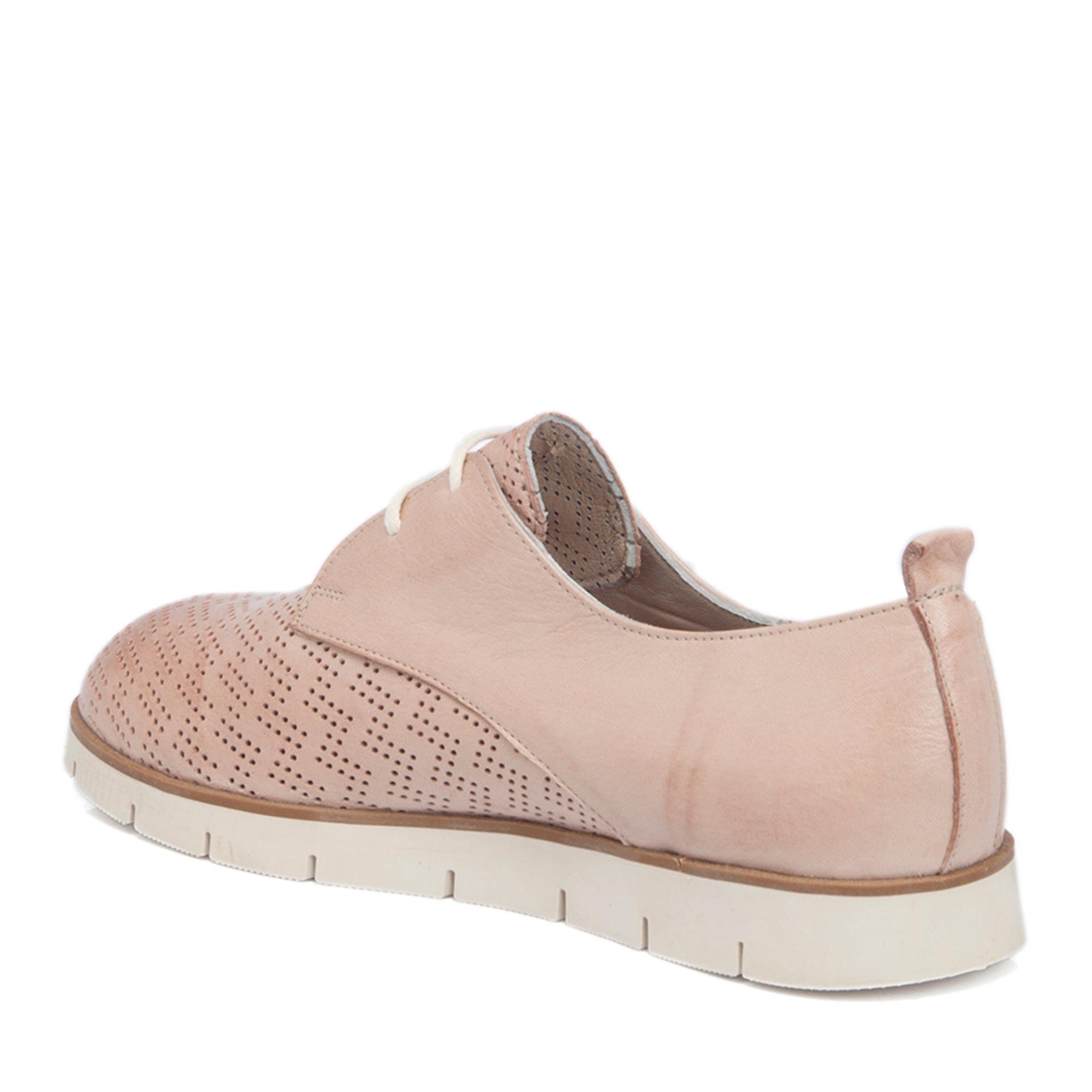Pudra Deri Kadın Ayakkabı 64219A67