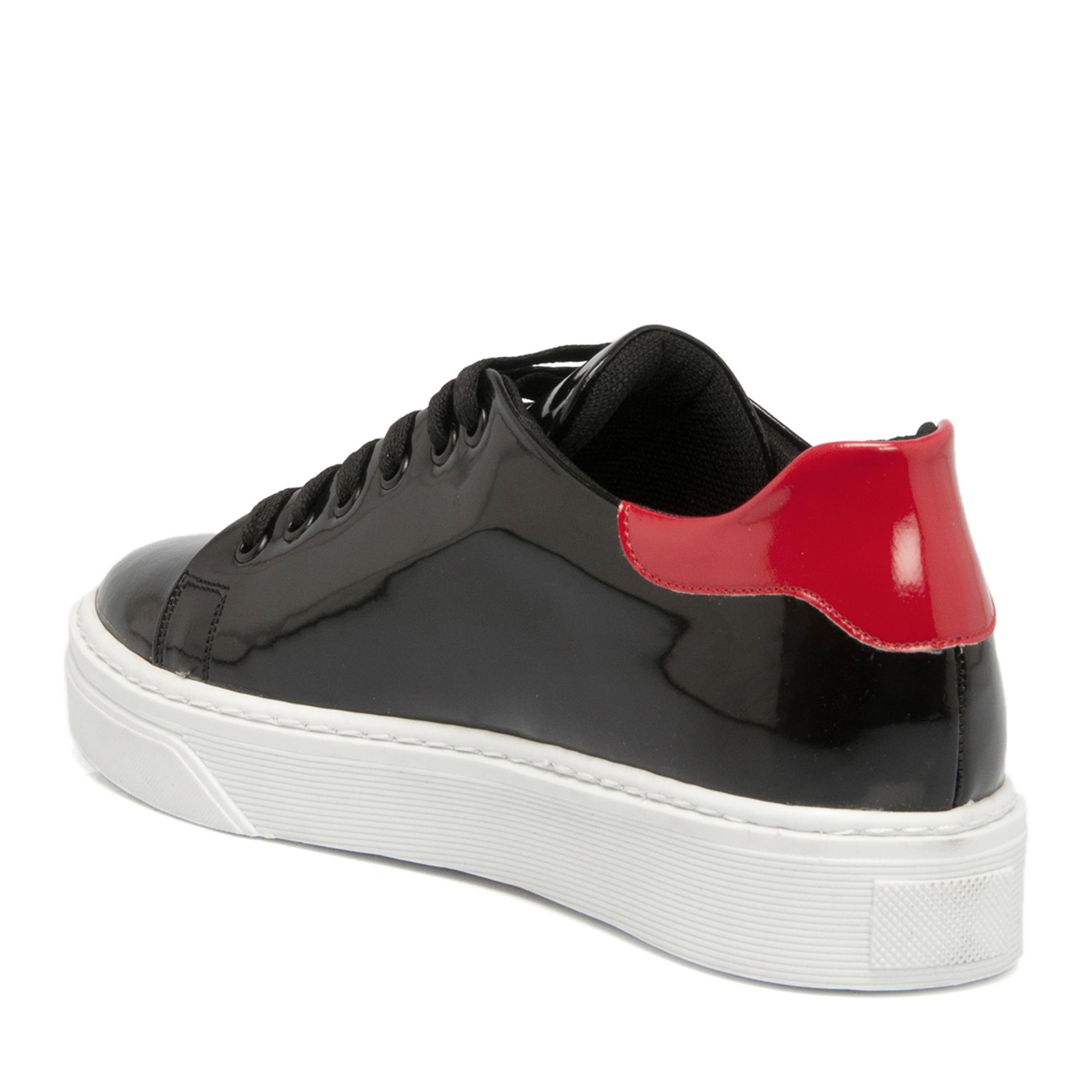 Siyah Tekstil Kadın Ayakkabı 64228D62