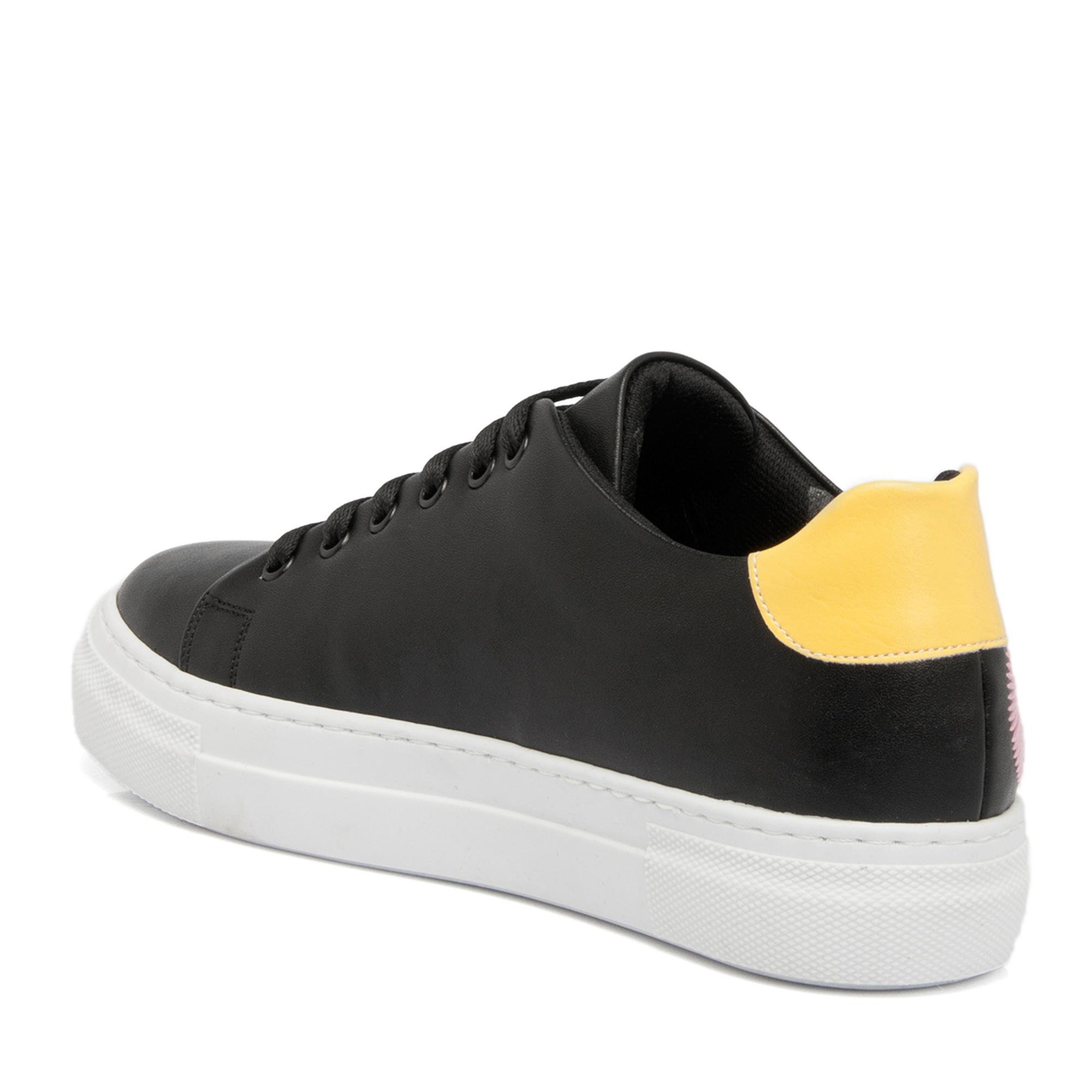 Siyah Tekstil Kadın Ayakkabı 64229D62