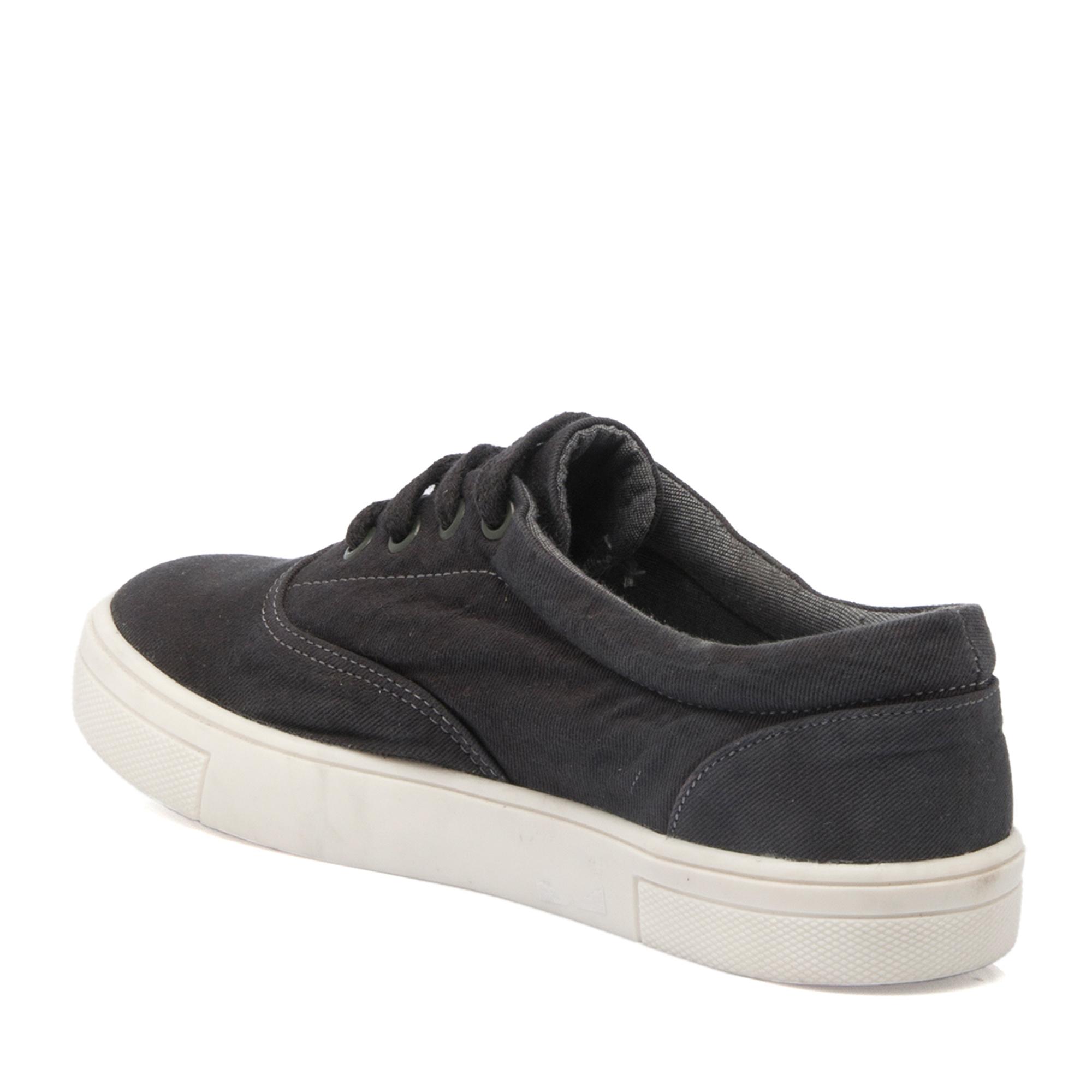 Siyah Tekstil Kadın Ayakkabı 64240B11