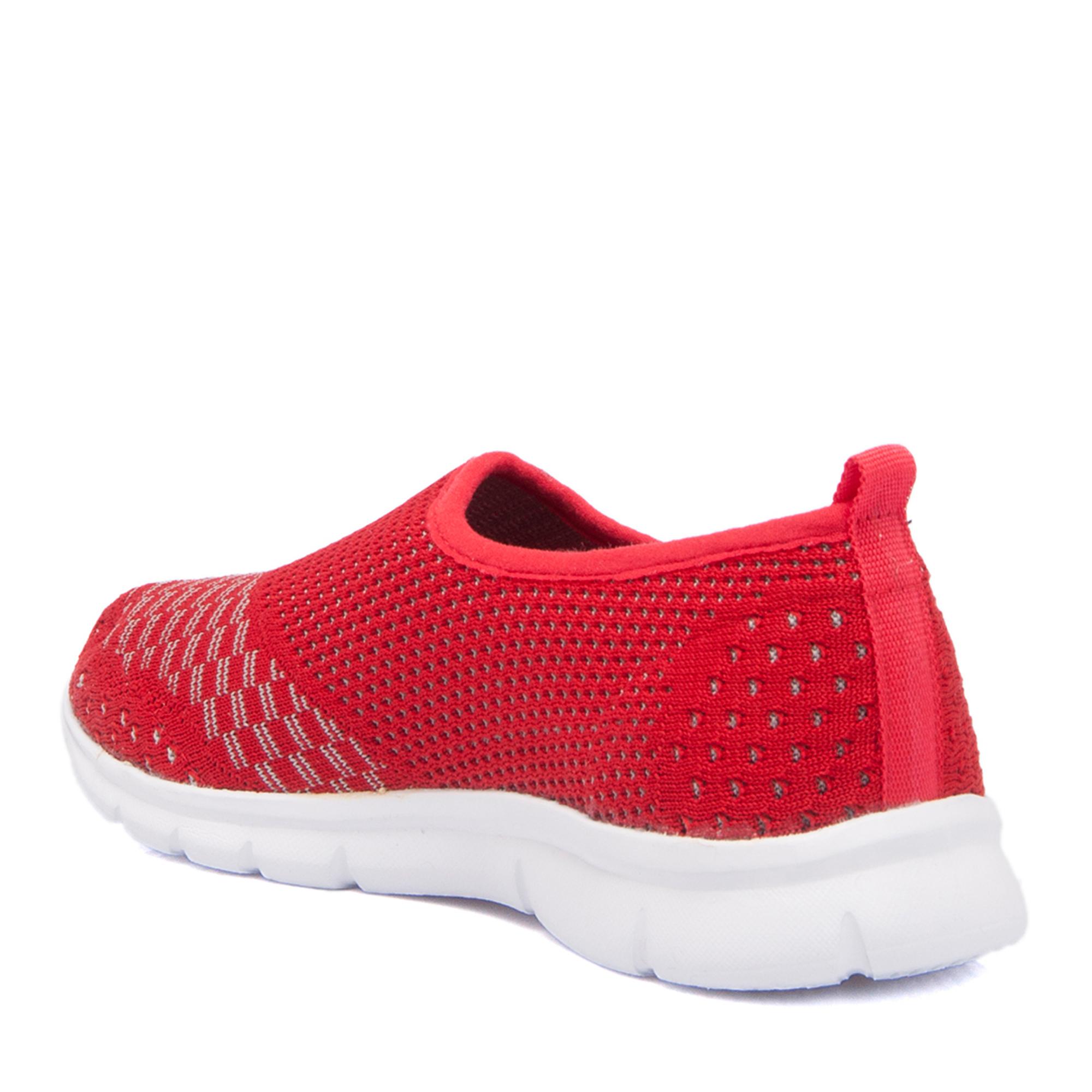 Kırmızı Tekstil Kadın Ayakkabı 64242I48