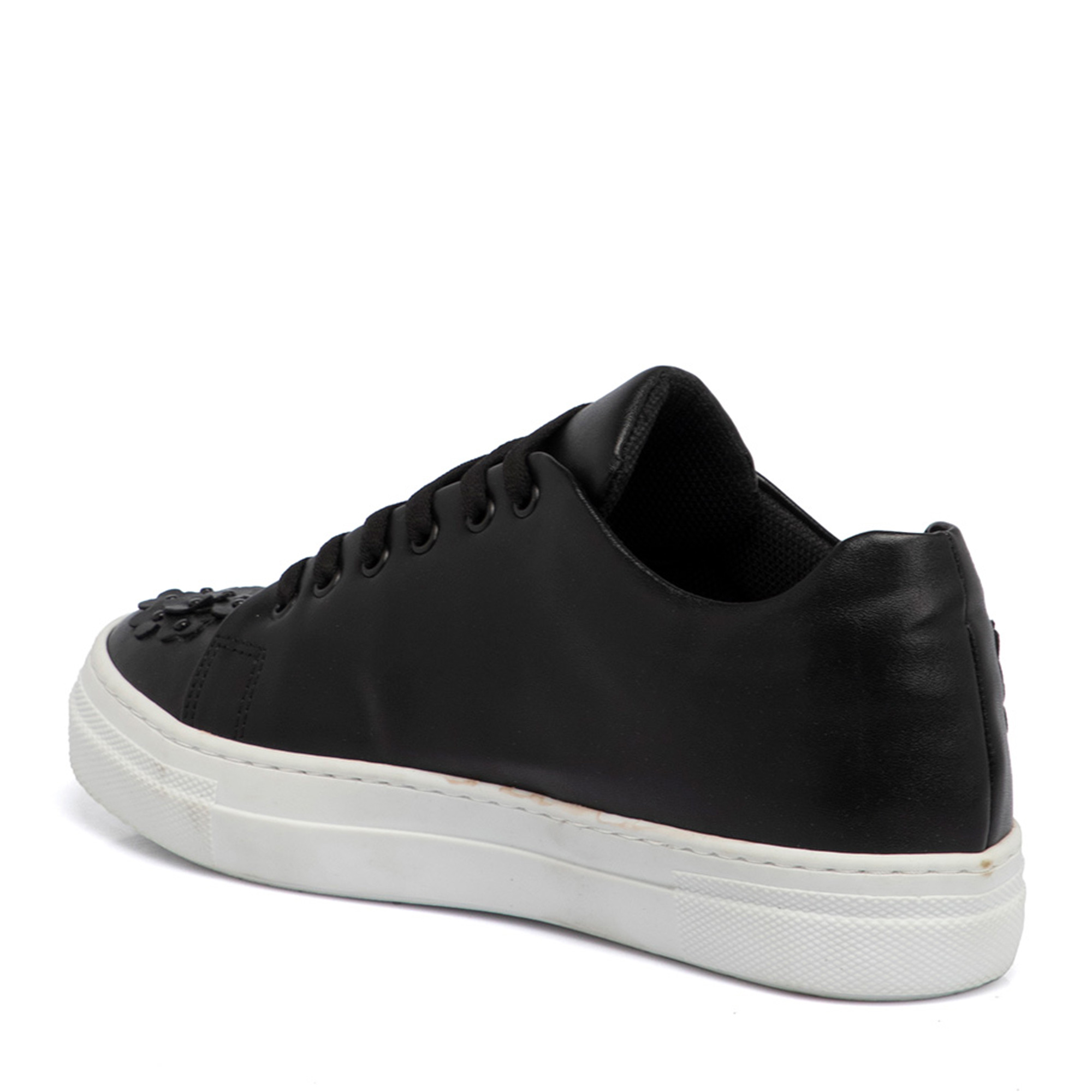 Siyah Tekstil Kadın Ayakkabı 64258D62