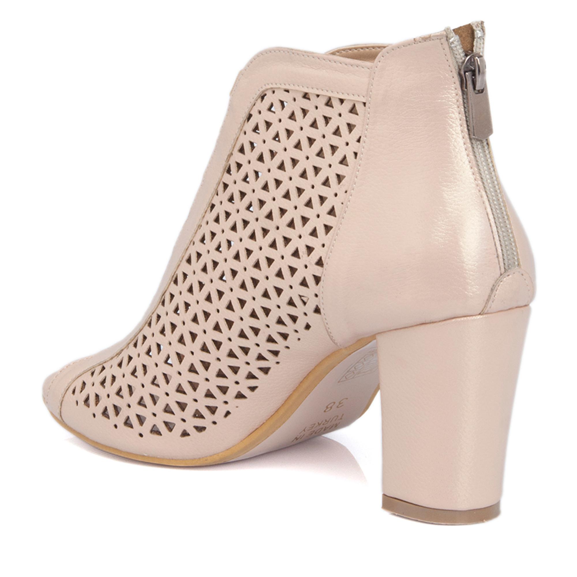 Pudra-Simli Vegan Kadın Ayakkabı 64303L9U