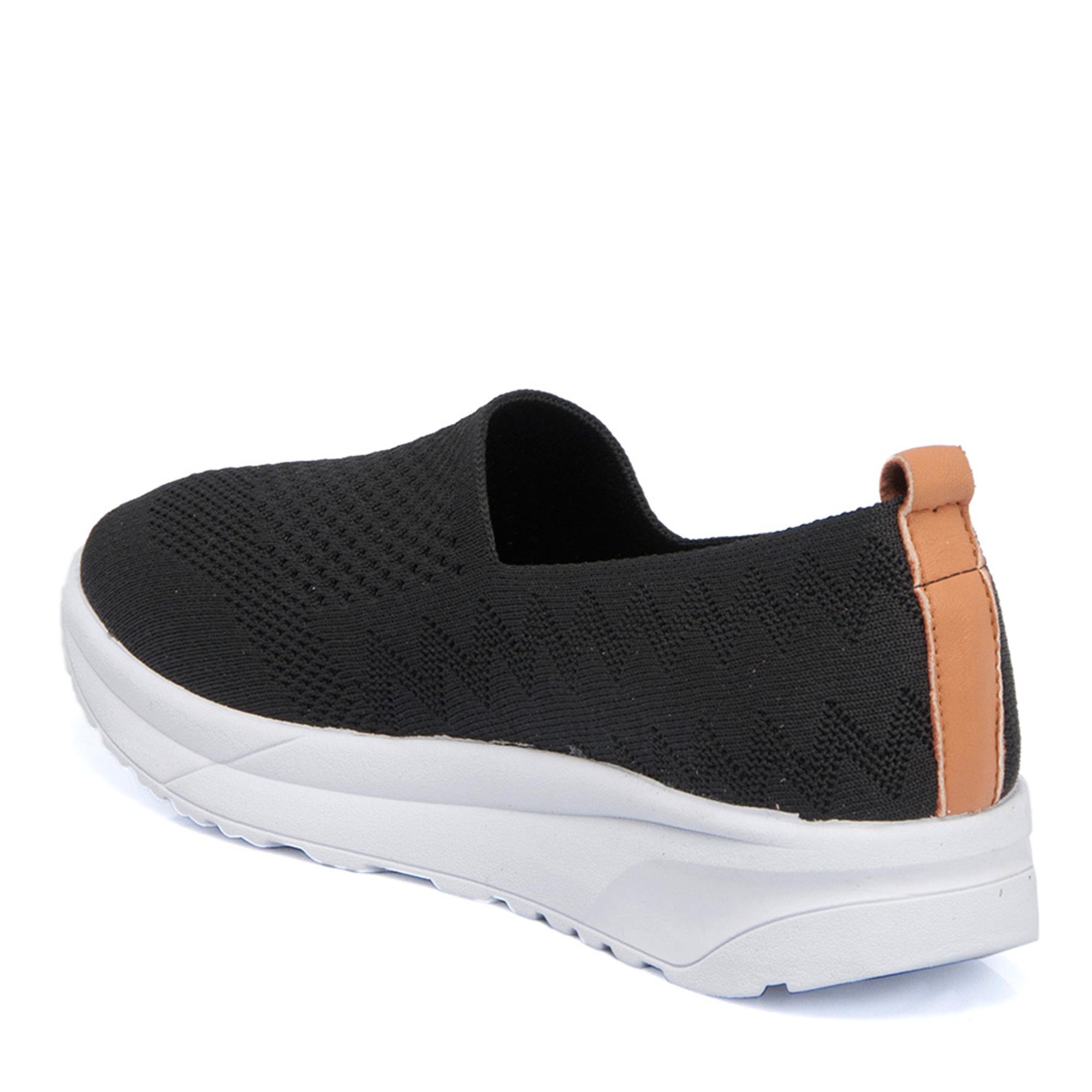 Siyah Tekstil Kadın Ayakkabı 64389I46