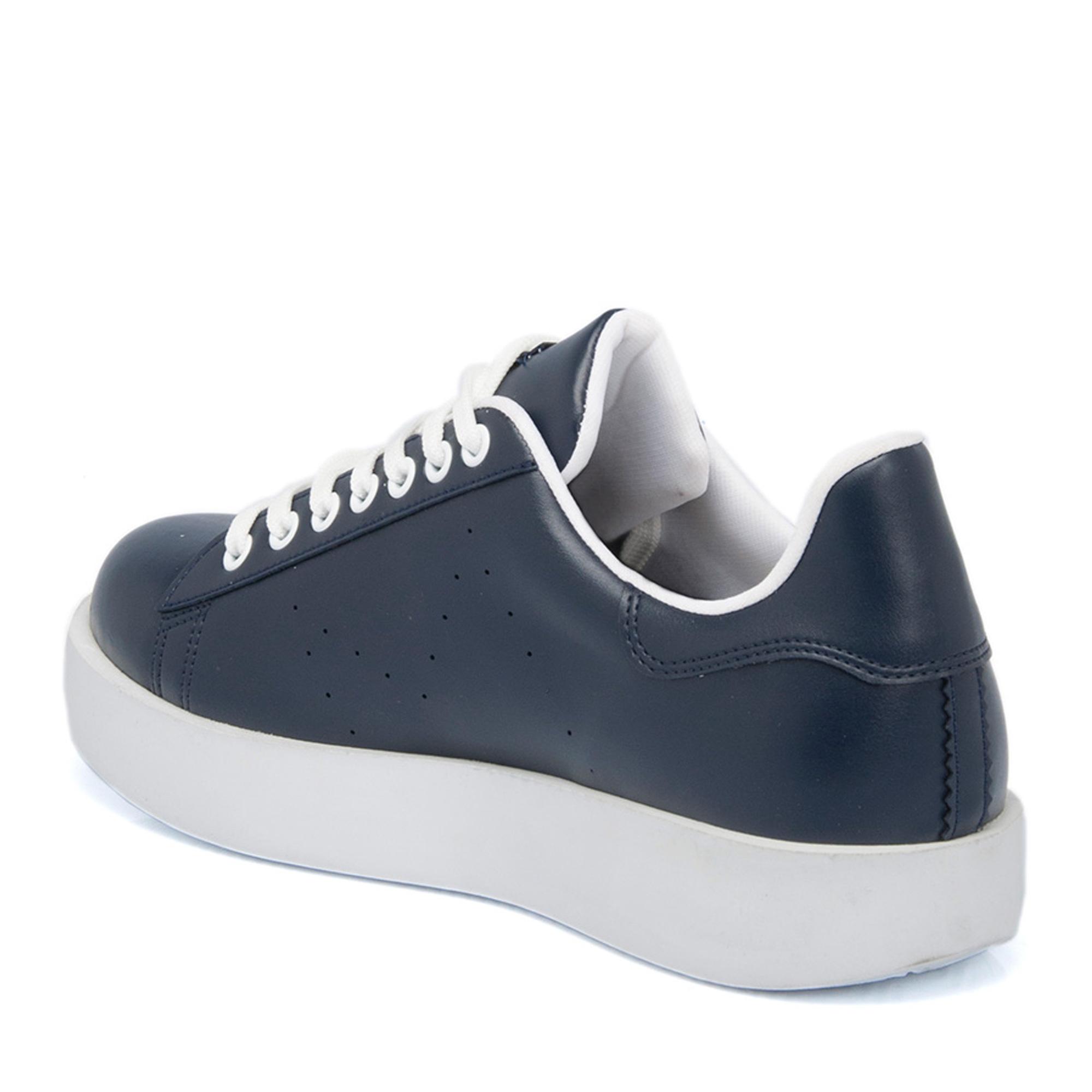 Lacivert Tekstil Kadın Ayakkabı 64464B20