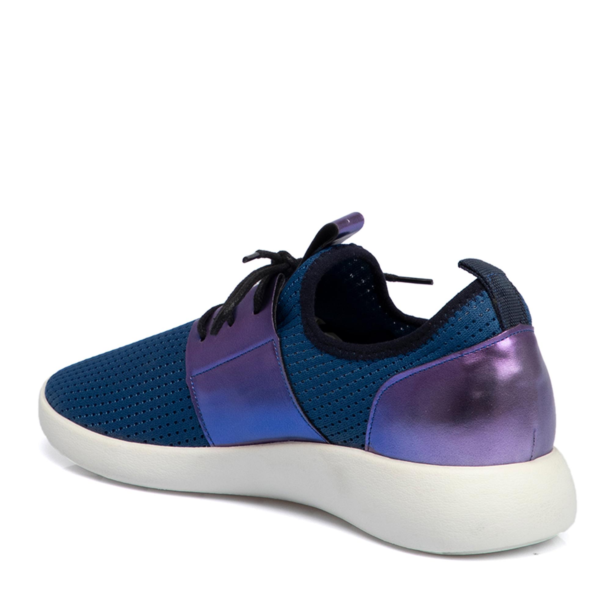 Lacivert-File Tekstil Kadın Ayakkabı 64469N5L