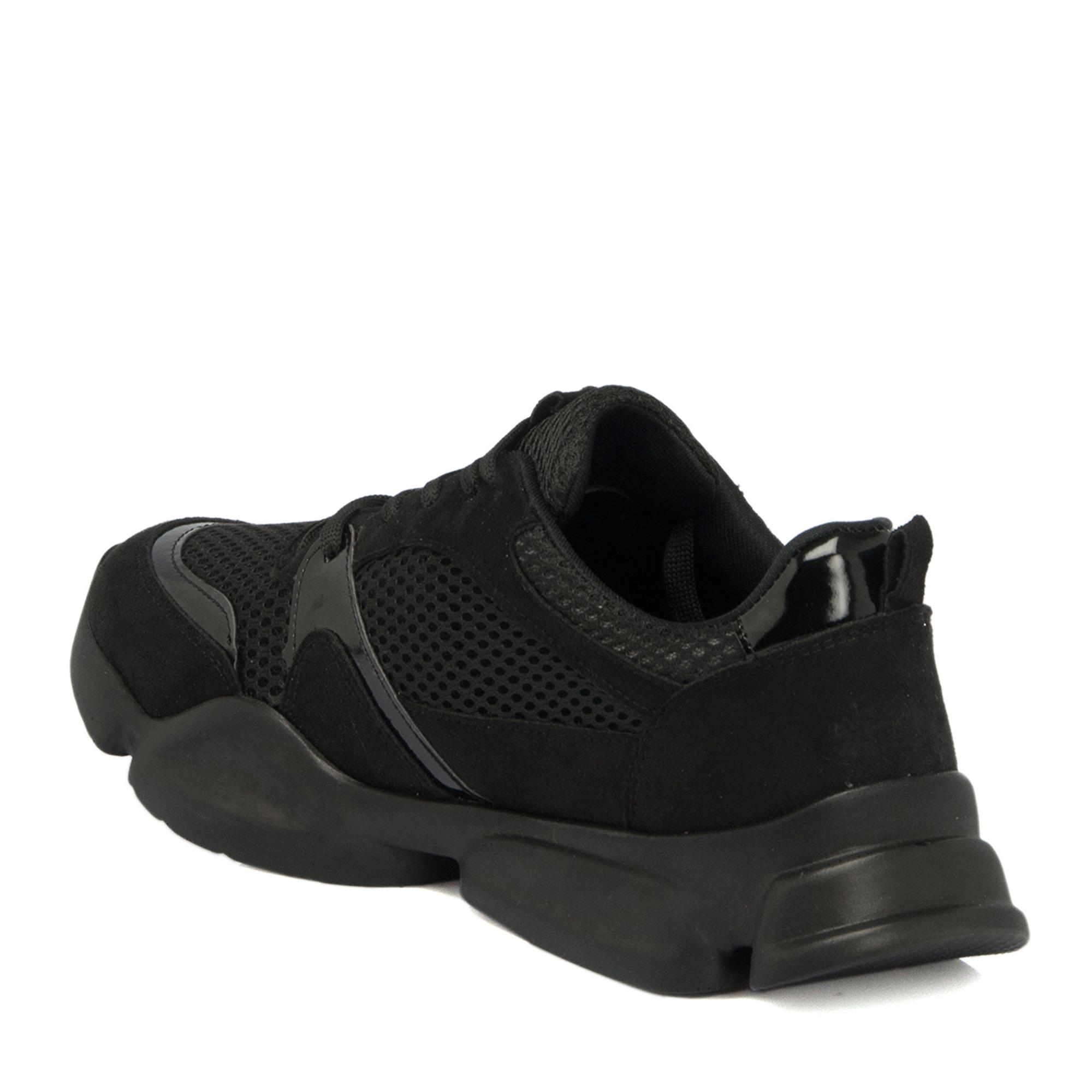Siyah Vegan Kadın Ayakkabı 64515B9H