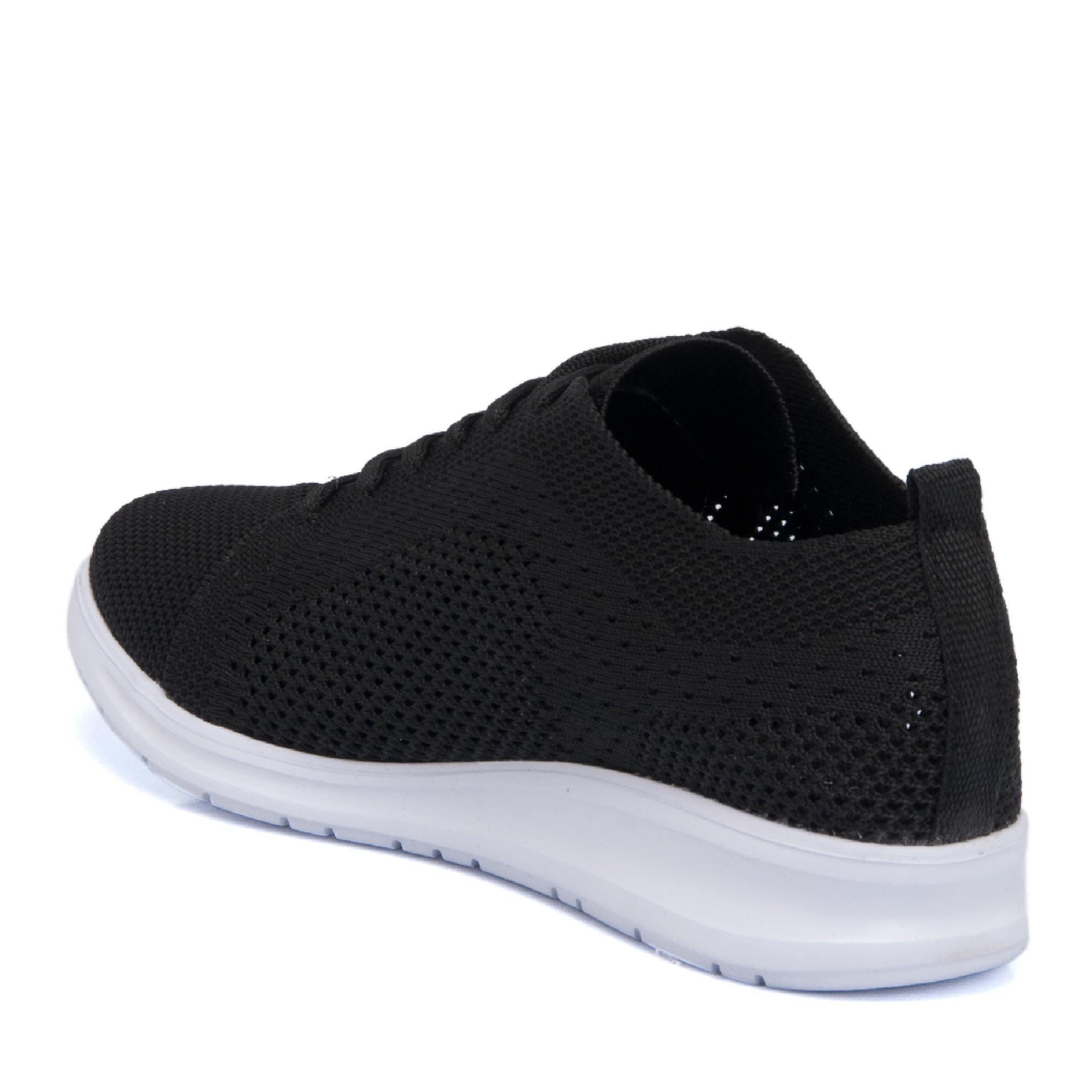 Siyah Tekstil Kadın Ayakkabı 64522I46