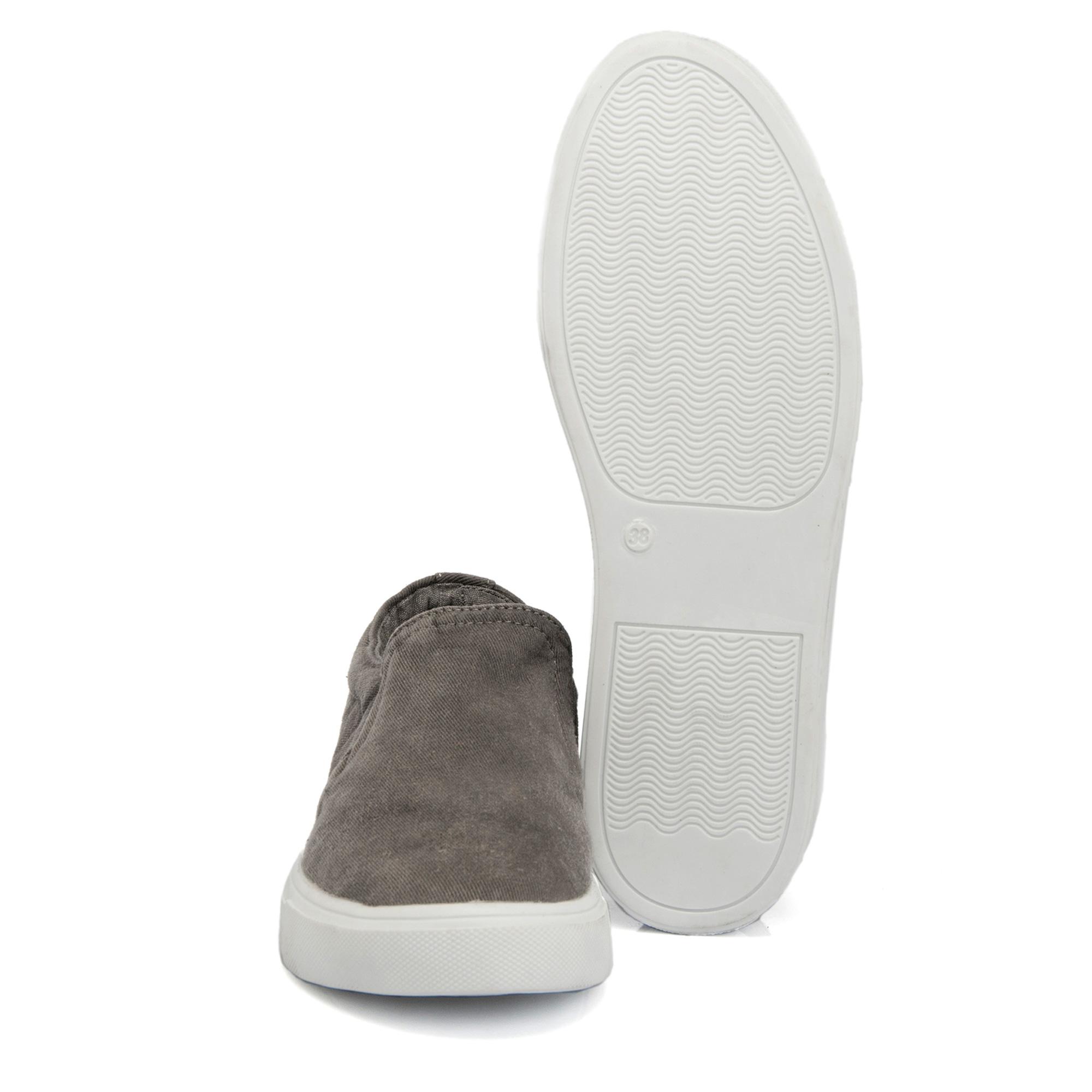 Antrasit Tekstil Kadın Ayakkabı 64545I3M
