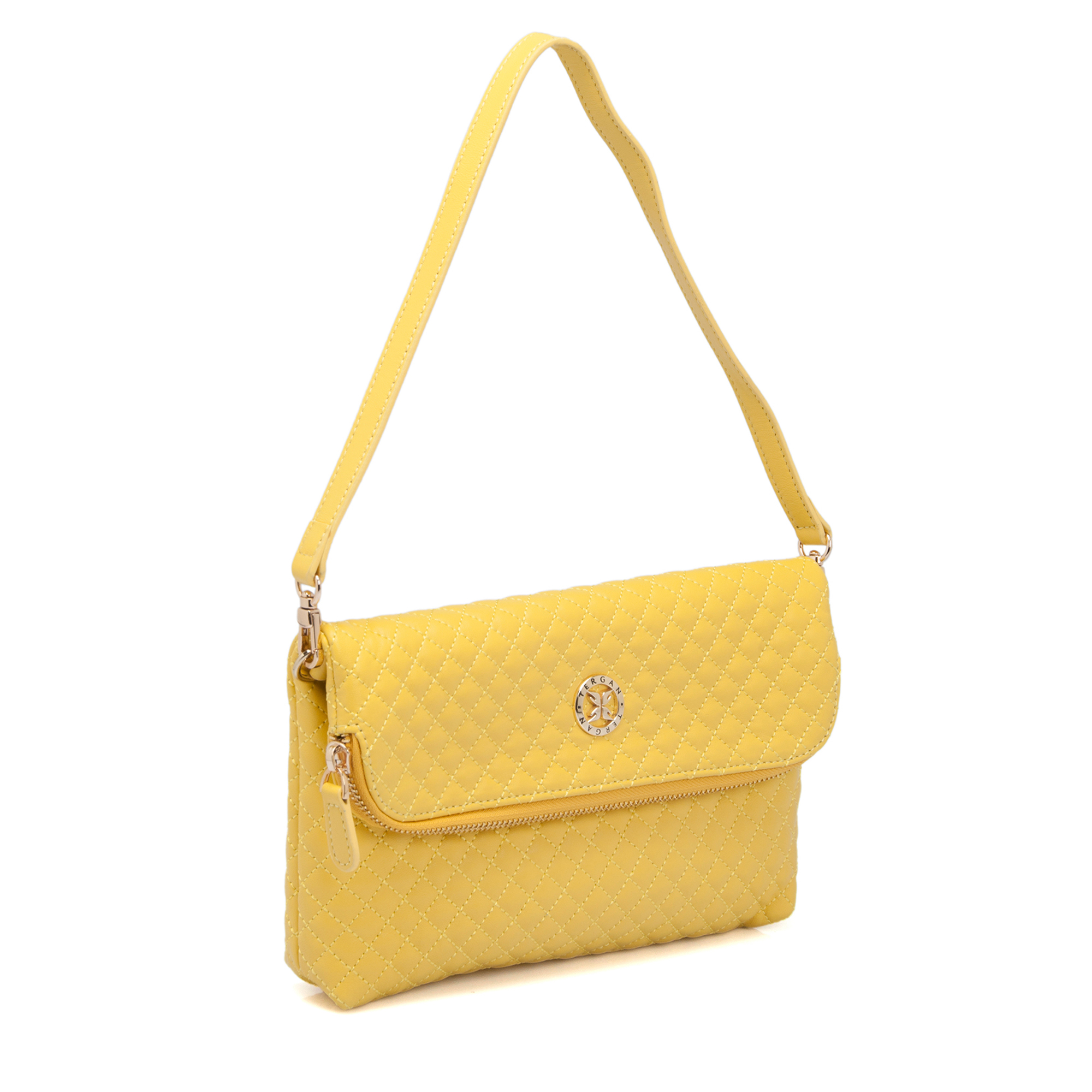 Sarı Deri Kadın Çanta 78267L5E