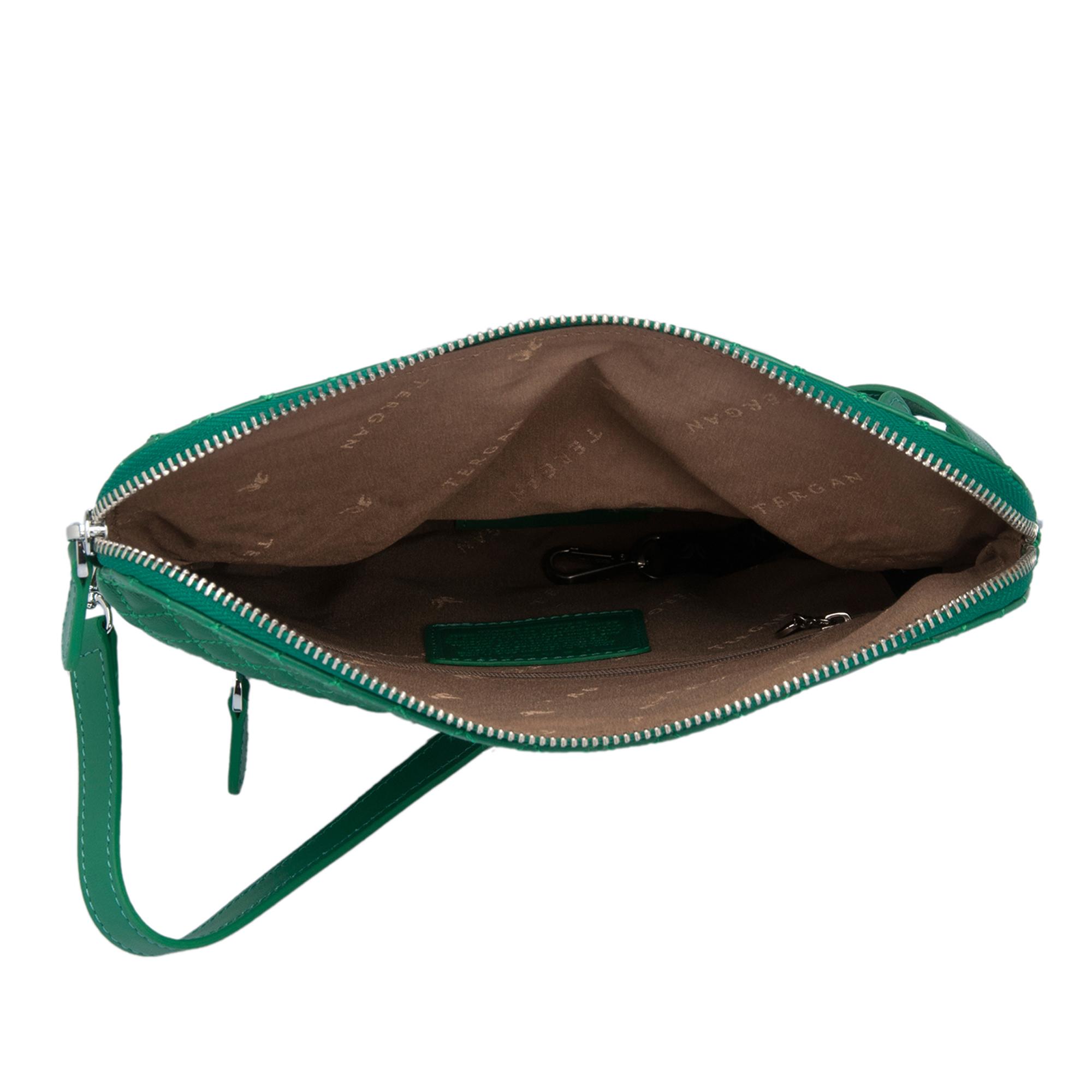 Yeşil Deri Kadın Çanta 78267M33