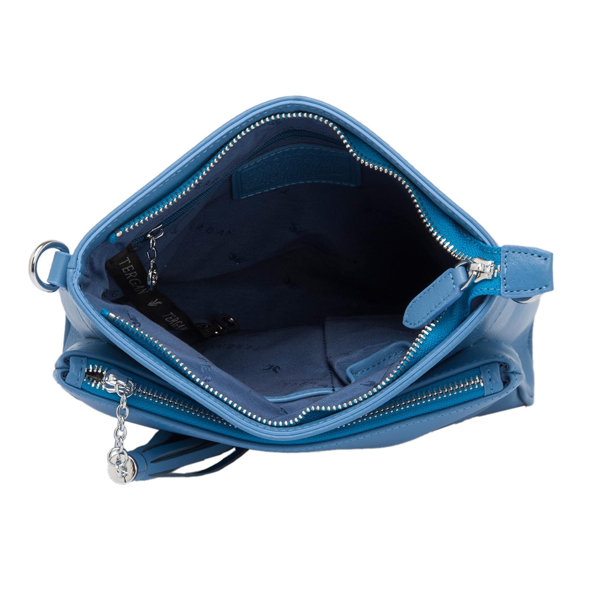 Mavi Deri Kadın Çanta 79489I92