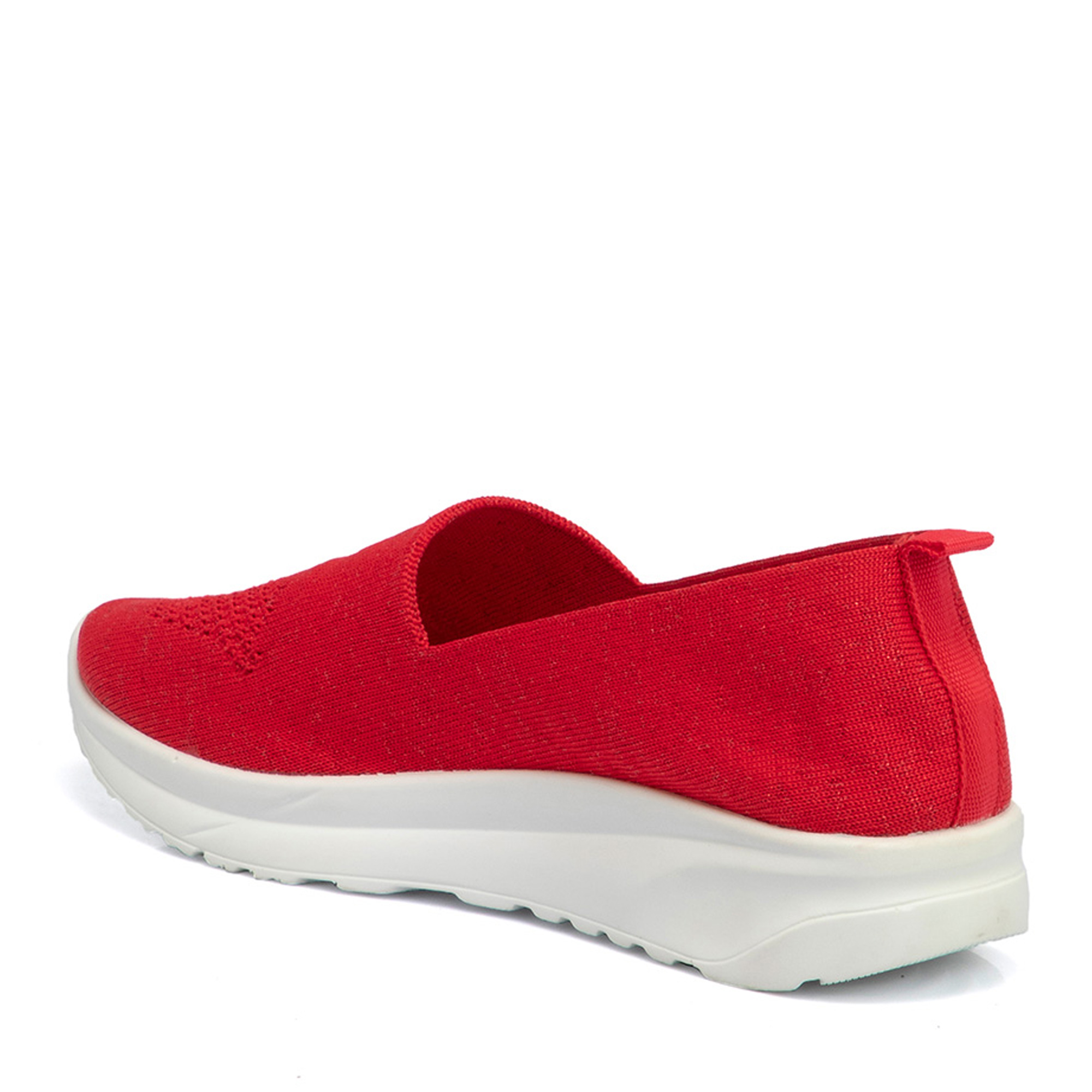 Kırmızı Deri Kadın Ayakkabı 64504D64