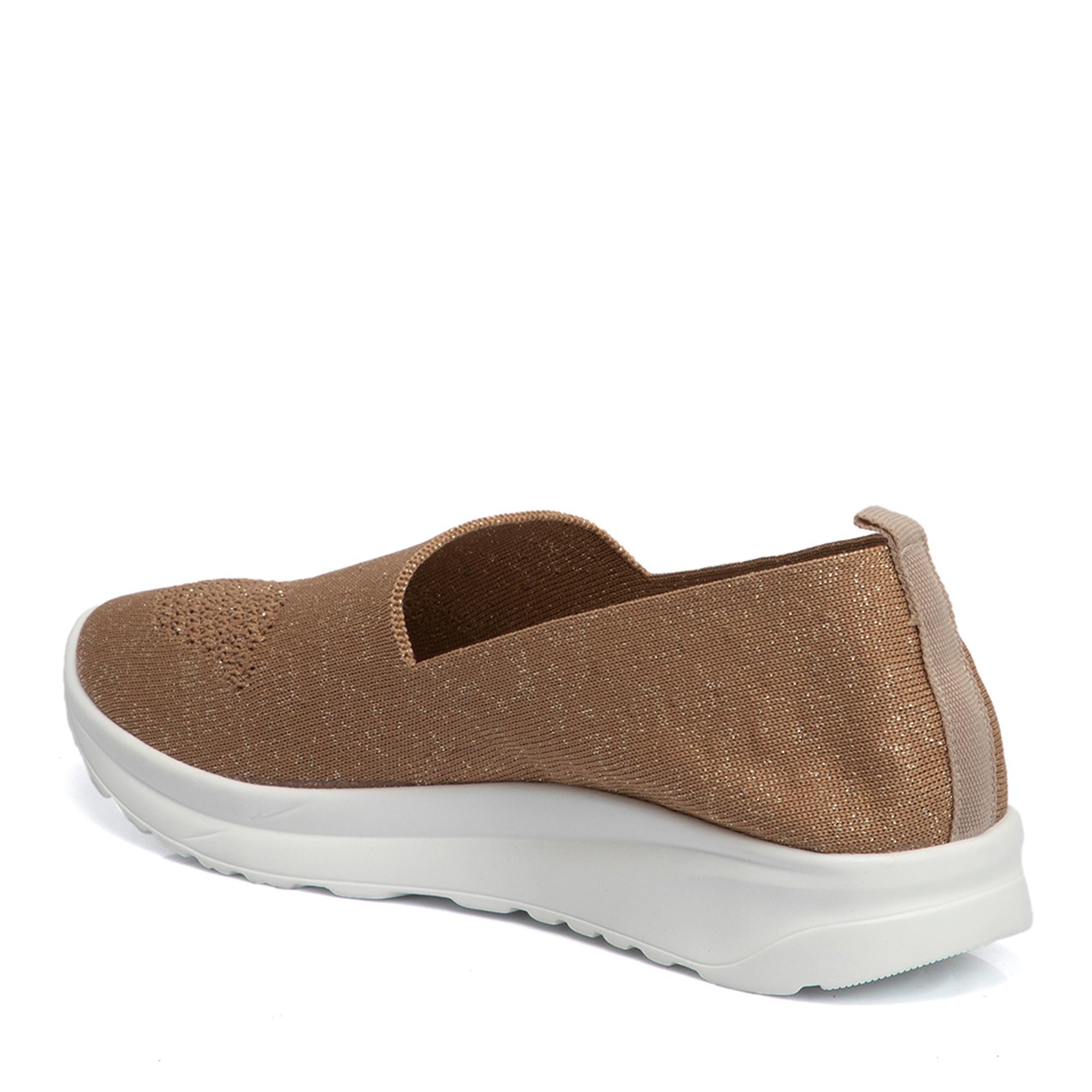 Bej Deri Kadın Ayakkabı 64504D67