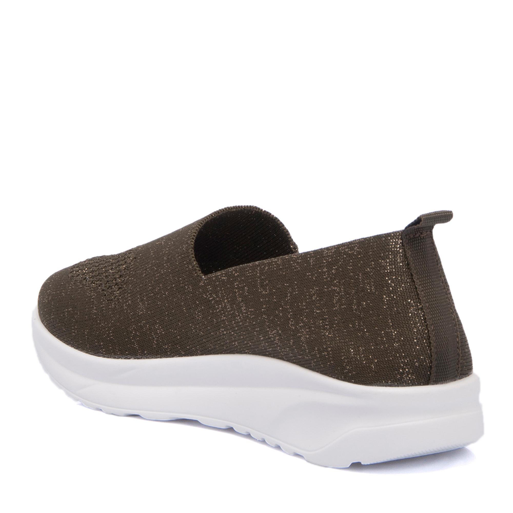 Yeşil Deri Kadın Ayakkabı 64504E90