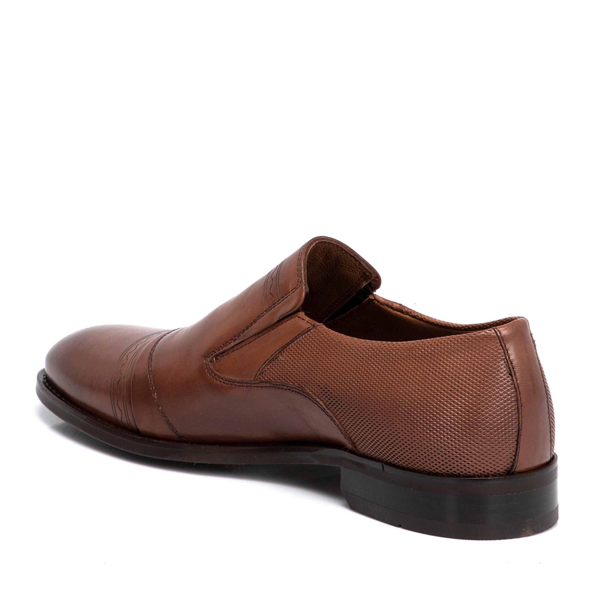 Taba Deri Erkek Ayakkabı 54277E22