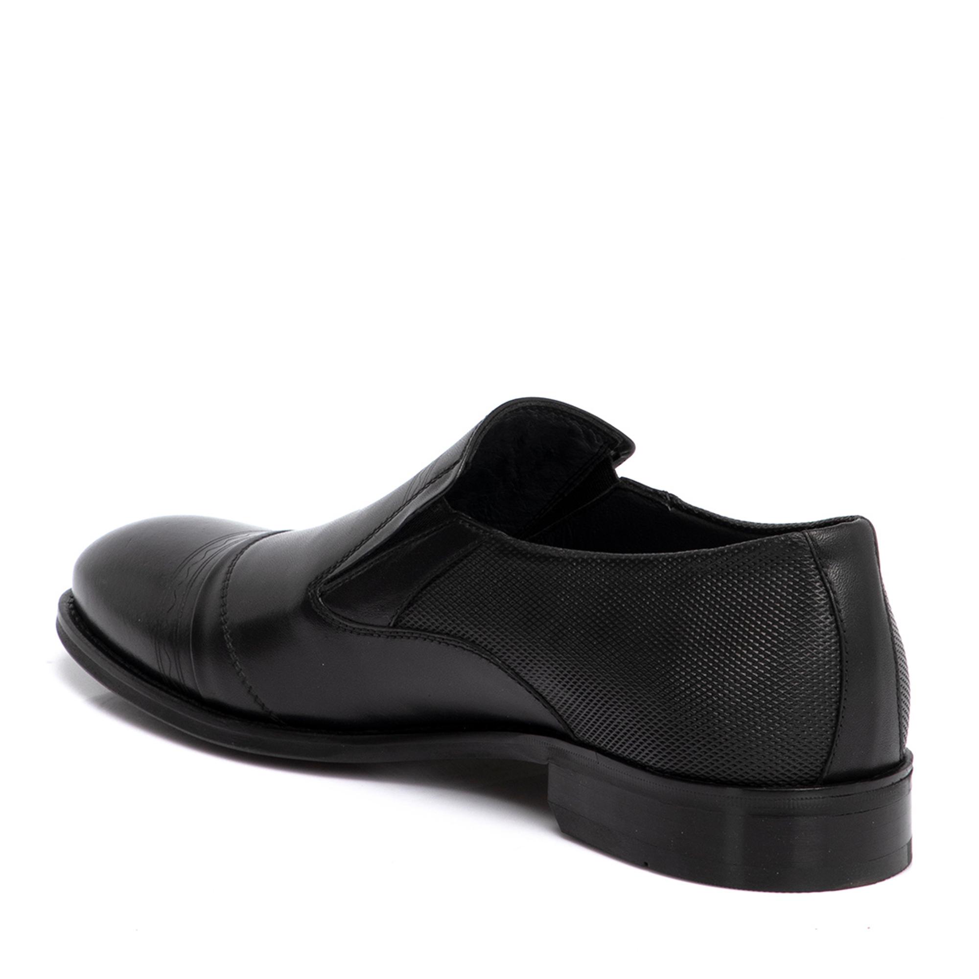 Siyah Deri Erkek Ayakkabı 54277G26