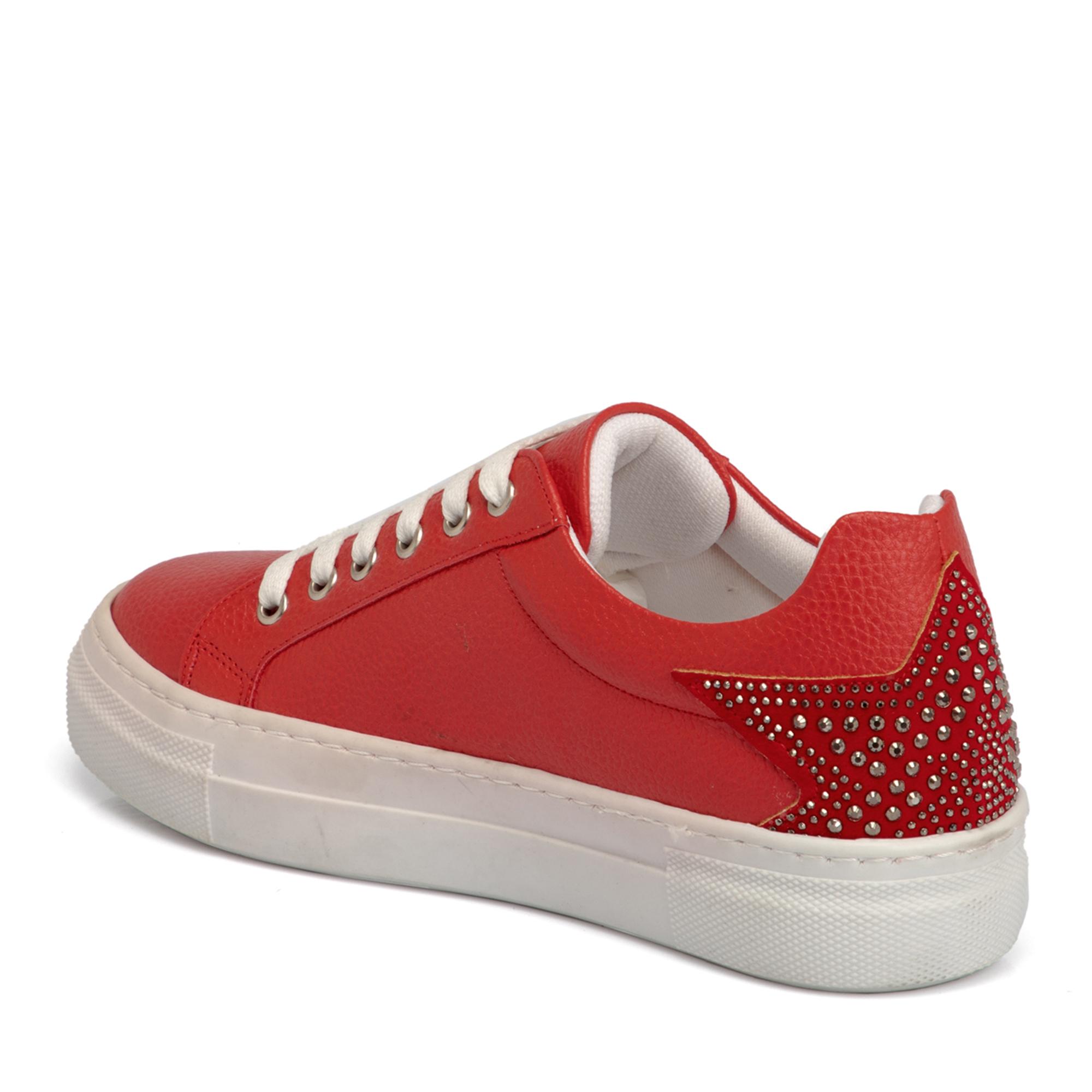 Kırmızı Kadın Ayakkabı 64549D64