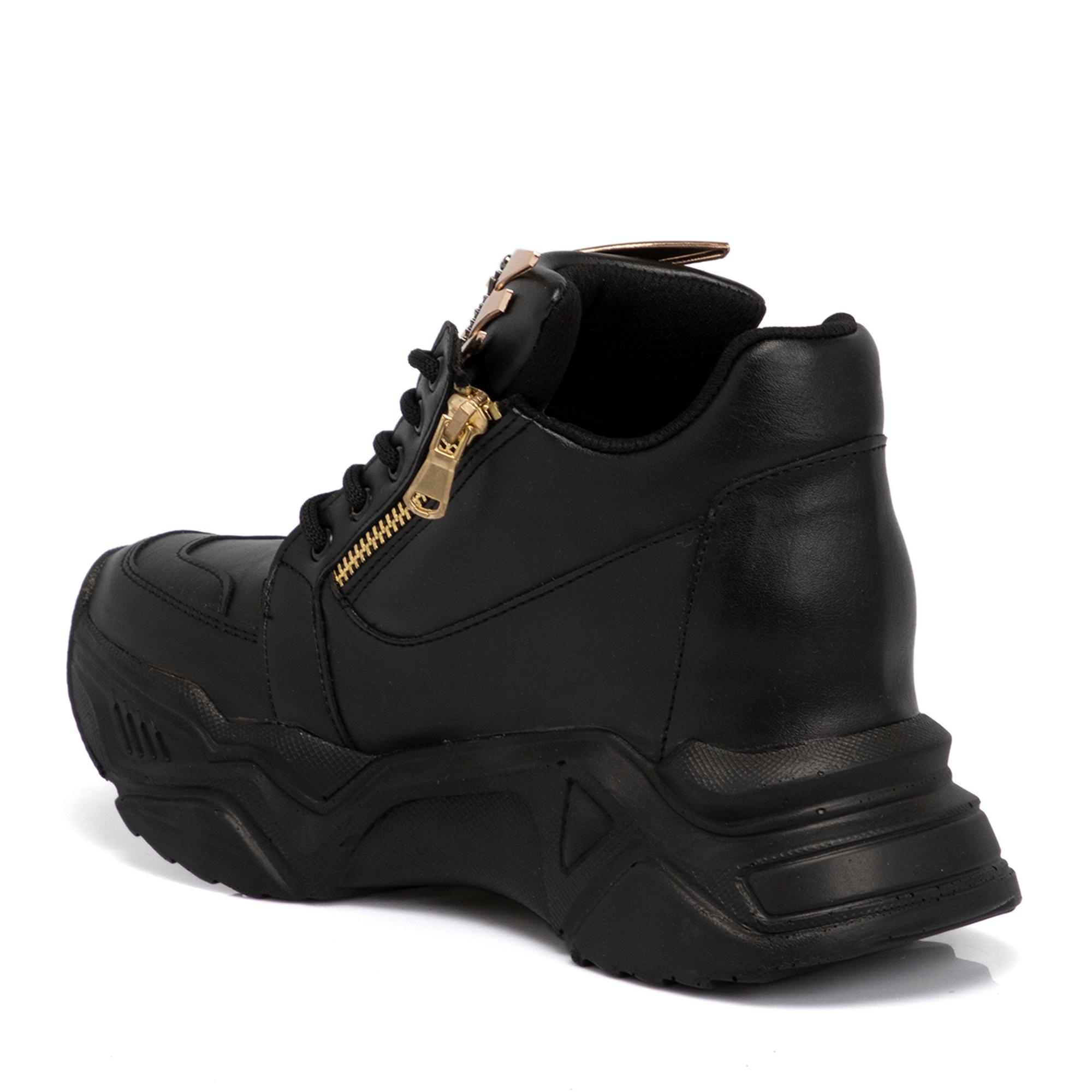 Siyah Vegan Kadın Ayakkabı 65075D62