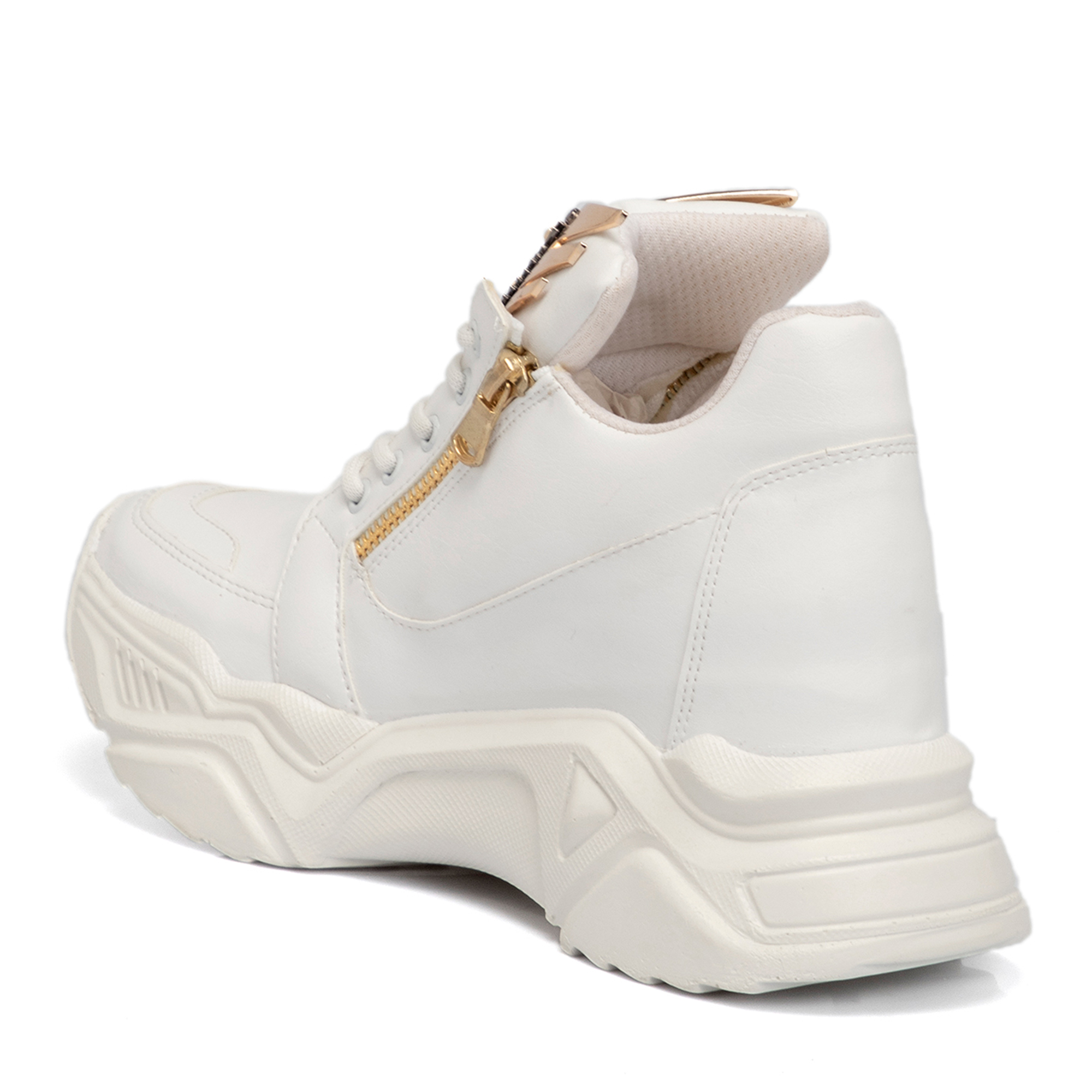 Beyaz Vegan Kadın Ayakkabı 65075D93