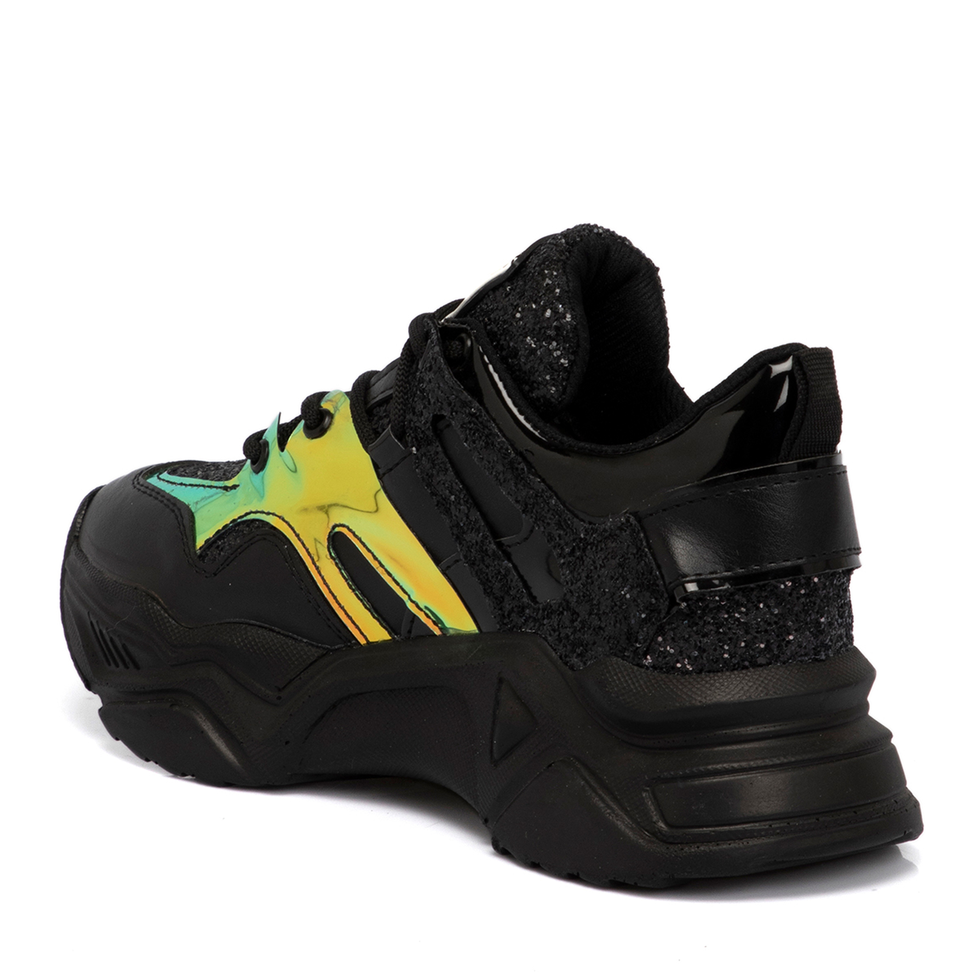 Siyah Vegan Kadın Ayakkabı 65077D62